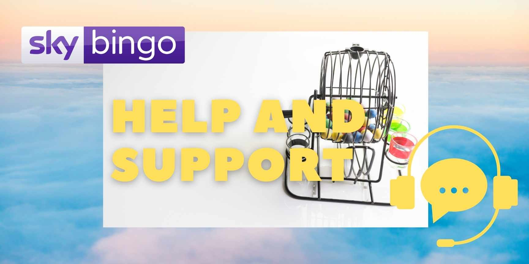 help and support